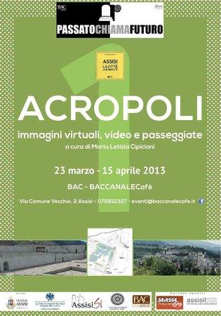 Hosteria Nova Baccanale Cafe : mostra Assisi la città che non c'è