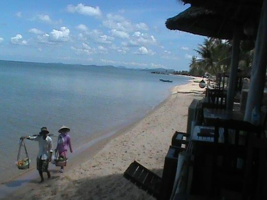 Paris Beach Phu Quoc: Looking north from dining balcony