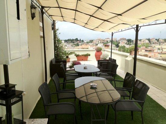 B&B La Duchessa A Roma : The rooftop terrace