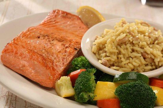 Sagebrush Steakhouse: Sweetwater Bourbon Salmon