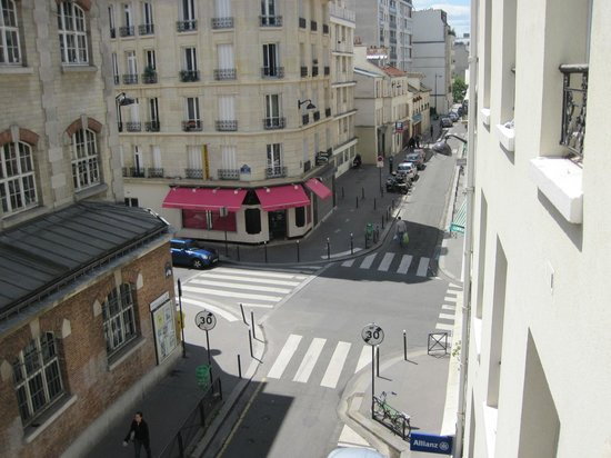 Aberotel Montparnasse : view from room