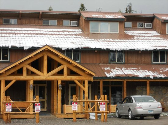 Togwotee Mountain Lodge: main lodge