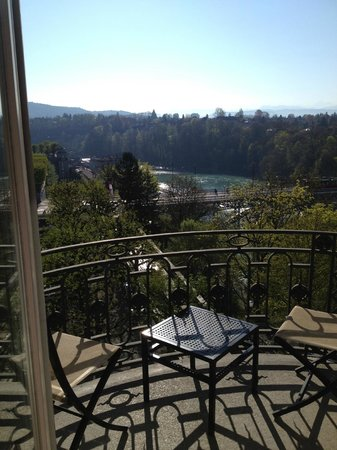 BELLEVUE PALACE Bern: joli balcon vue magnifique