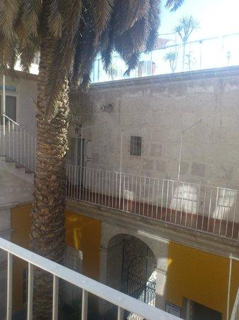 Hostal La Casa de Margott: interior del hostal