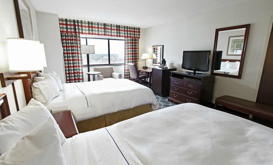Radisson Hotel High Point: 2 Double Bedded Room