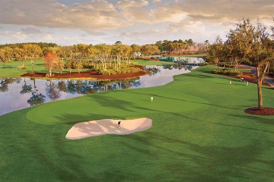 Islas Doradas de Georgia, GA: 10th hole at Frederica Golf Club