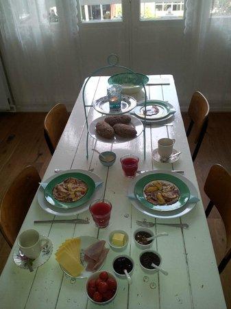 het Hemelrijck Bed & Breakfast: El desayuno que nos preparó Johan
