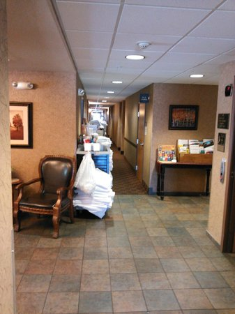 Glenwood Suites: view from front desk area