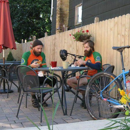 Standing Stone Coffee Company: Hot spot for mountain biking the Allegrippis Trails at Raystown Lake