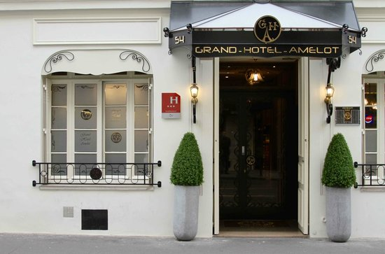 Grand Hotel Amelot: ENTREE