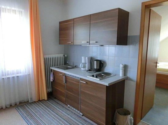 Steiermark Hotel Garni: Кухня