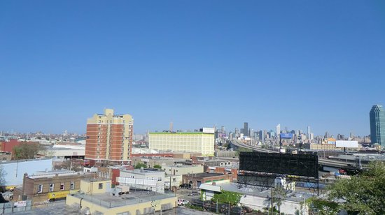 City View Inn : Ausblick von unserem Zimmer, 4. Stock