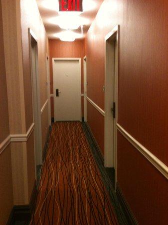 La Quinta Inn & Suites Manhattan: hall