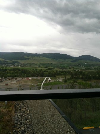 UBC Okanagan Campus: View from the roof top lounge