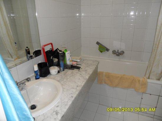 Hotel Le Pacha: la salle de bain