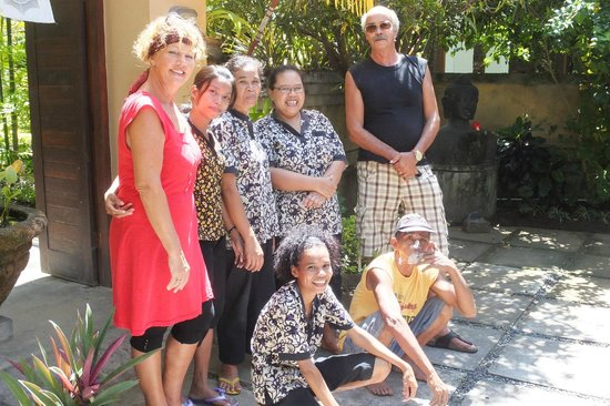 Het team van Villa Tanjung Mas