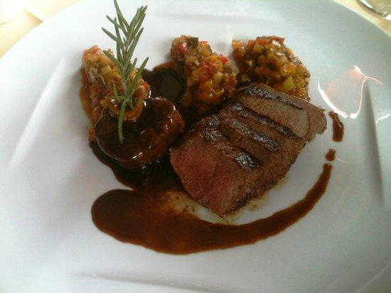 Restaurant Muehle: Agneau