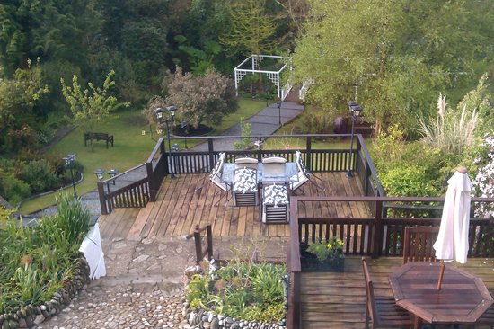 Langleigh Guest House : The garden from our room