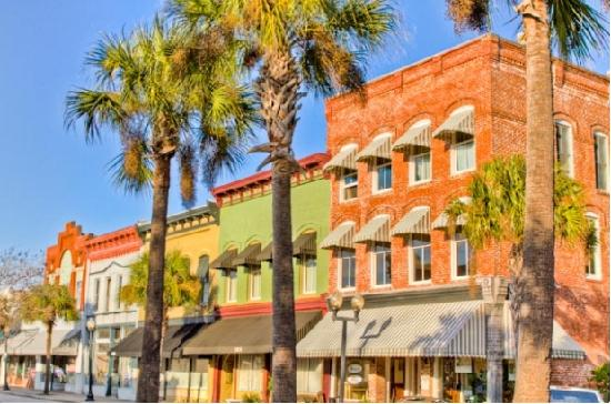 Golden Isles of Georgia, GA: Historic downtown Brunswick