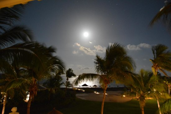 Sandals Emerald Bay Golf, Tennis and Spa Resort: mid night sky
