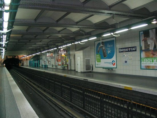 Hotel du Brabant : fermata metro