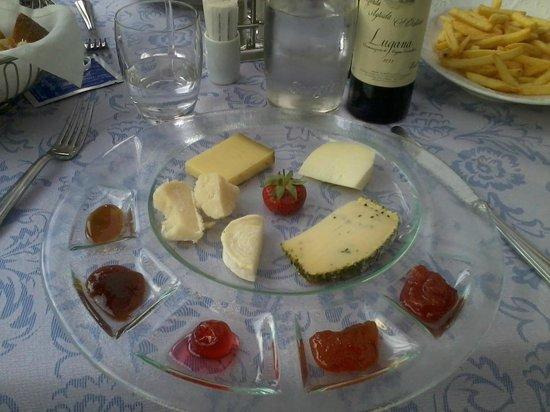 Conca Azzurra : Ottima selezione di formaggi con gelatine e marmellate divine