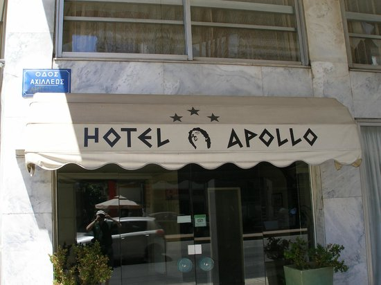 Apollo Hotel: Entrance