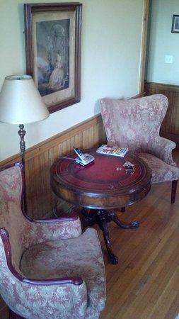 Hotel Belvedere: Sitting area