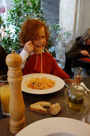Ristorante Le Campane: pici all'aglione