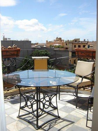 Hotel Majestic Roma: Balcony room 415