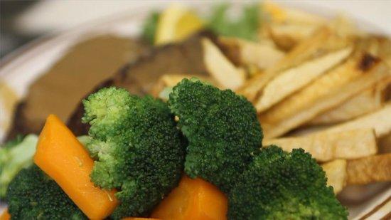 Rancher's Restaurant: Fresh steamed veggies