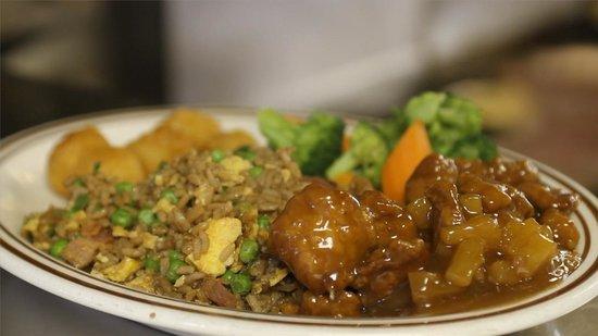 Rancher's Restaurant: Chinese platter
