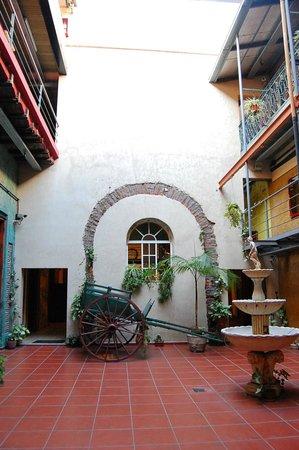 Hotel Parada: Area de recepción