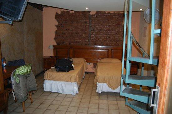 Hotel Parada: Habitación doble con baño privado