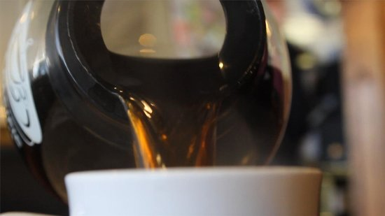 Rancher's Restaurant: Fresh coffee served minutely