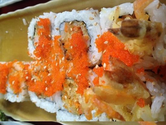 Yamamoto Restaurant: rubia rol un plato delicioso
