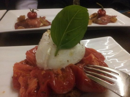 Bellini : tomate et mozza di buffala
