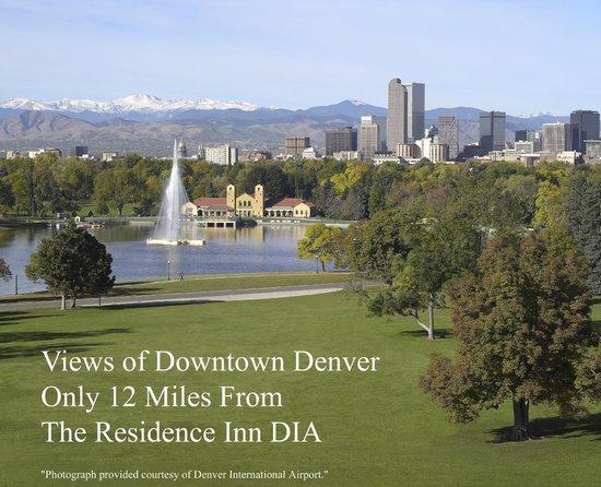 Residence Inn Denver Airport: Down town Denver