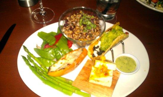 Seasons 52 : The Spring menu vegetarian platter