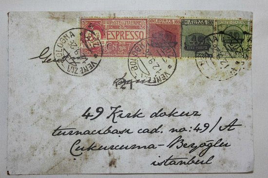 49 Cukurcuma. The original business card of Cukurkuma 49, Istanbul.