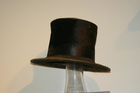President Andrew Johnson Museum and Library: Johnson's Top Hat
