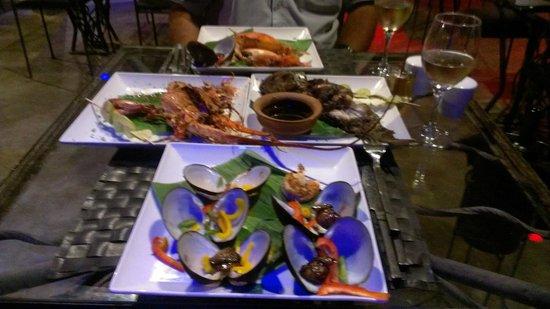 Blue Eyes Inn - Unawatuna: Delicious food