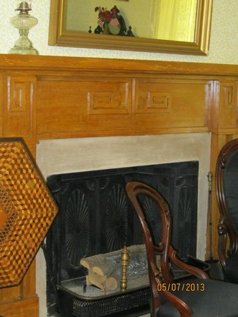 Andrew Johnson National Historic Site: One of Several Fireplaces