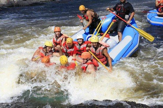 Bryson, Canadá: Rafting