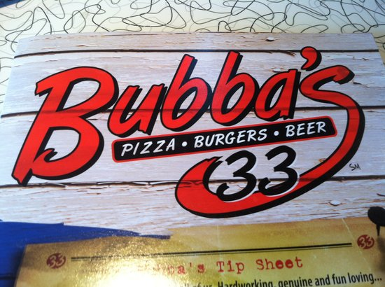 Bubbas 33: nice place