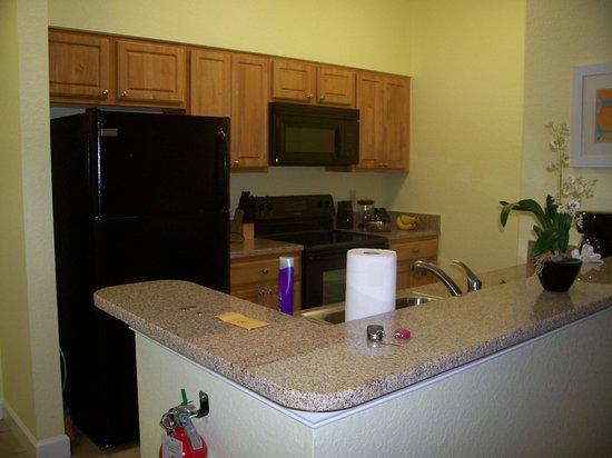 Festiva Orlando Resort : Our very convenient kitchen facility