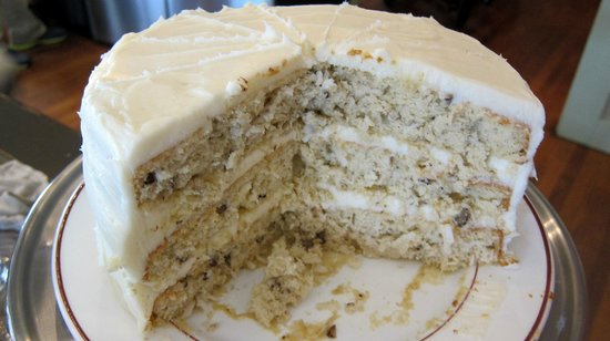 Martindale, Teksas: Italian Cream Cake