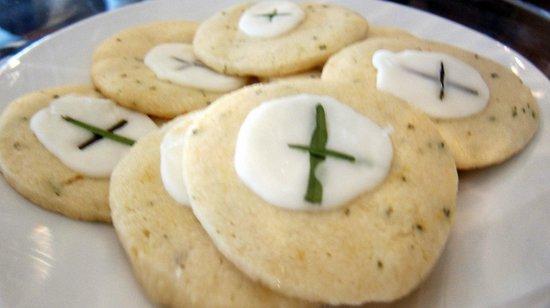 Martindale, Teksas: Rosemary Cookies. Wow.