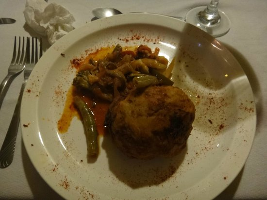 Essence Demo Cuisine: fried mashed potato ball for peruvian night