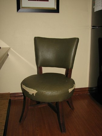 Homewood Suites by Hilton Chattanooga/Hamilton Place: 1 of 2 Torn Chairs in Room